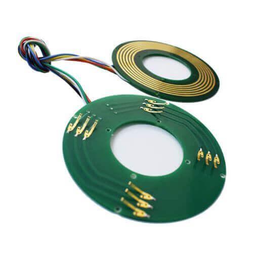 分体式导电滑环